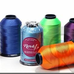 Нитки для машинной вышивки из Полиэстера Royal