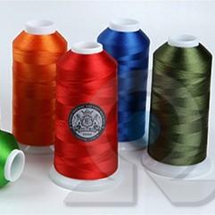 Нитки для машинной вышивки из Вискозы Crown-tex
