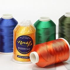 Нитки для машинной вышивки из Вискозы Royal