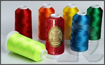 Нитки для машинной вышивки, Crown-tex, Полиэстер