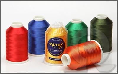 Нитки для машинной вышивки, Royal, Вискоза