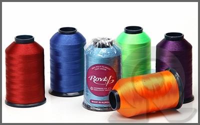 Нитки для машинной вышивки, полиэстер, Royal