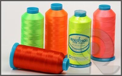 Нитки для машинной вышивки, Marathon, Полиэстер