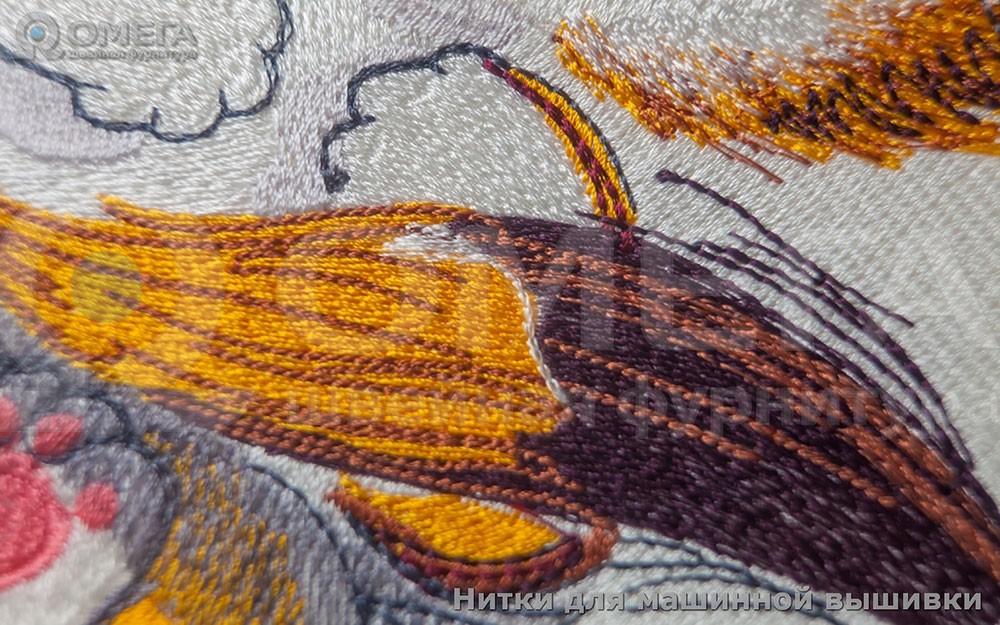 Примеры работ сделанных вышивальными нитками Royal. 2