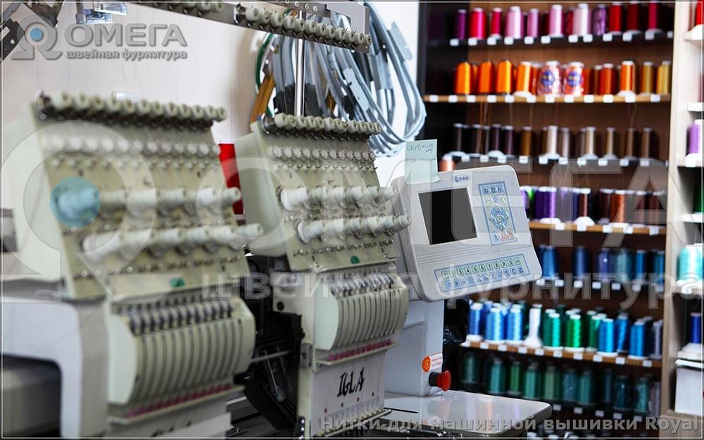 Примеры работ сделанных вышивальными нитками Marathon. 1