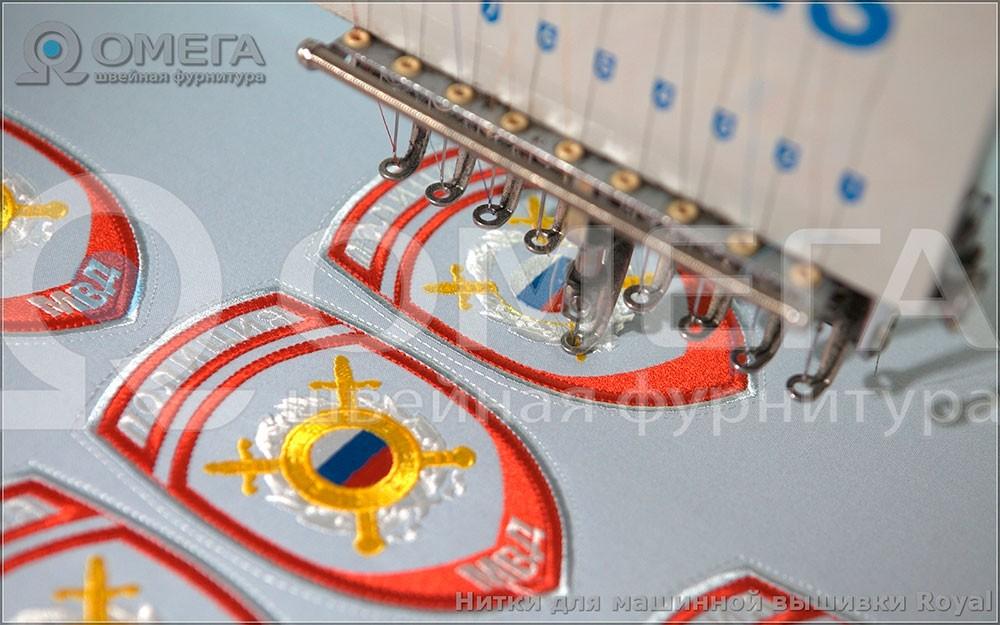 Примеры работ, вышивальные нитки из вискозы. 3